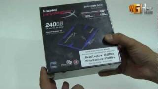 Kingston HyperX SSD 240GB Upgrade Kit (Unboxing & Preview)