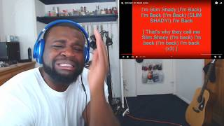 Eminem - I'm Back | Reaction