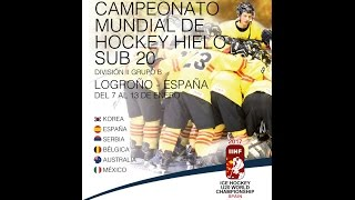 download IIHF ICE HOCKEY U20 WORLD CHAMPIONSHIP Div. II Group B  Spain - Australia Video