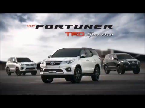 Toyota Fortuner TRD Sportivo 2016 ราคา โตโยต้า ฟอร์จูนเนอร์ TRD Sportivo ตารางผ่อน-ดาวน์