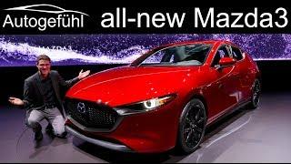 All-new Mazda3 REVIEW Exterior Interior comparison Hatch vs Sedan 2019 2020 Mazda 3 - Autogefühl