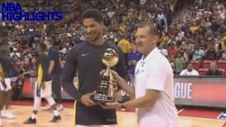 Blazers Vs Lakers 91-73 Summer League NBA Highlights 2018
