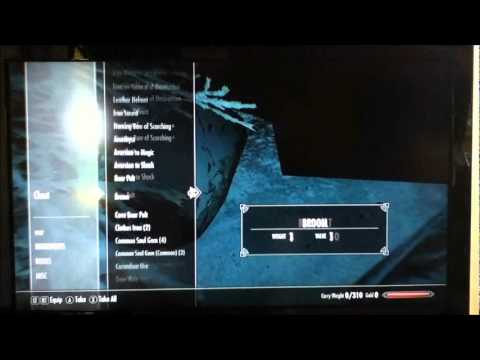HIDDEN CHEST IN SKYRIM XBOX 360 PS3 COMPUTER! MONEY RARES ETC! TUTORIAL!