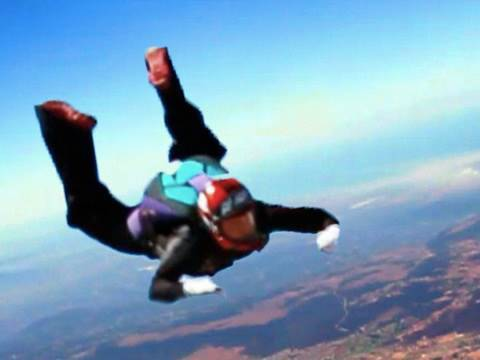 Skydiving Out My Front Door