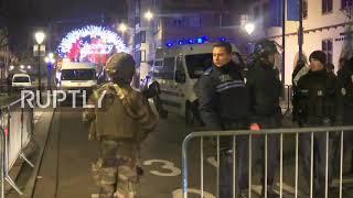 France: Strasbourg remains on lockdown following Christmas market shooting