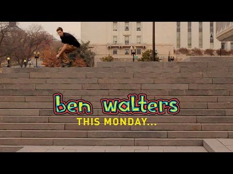 """This Monday... Ben Walters """"i AM blind"""" Part"""