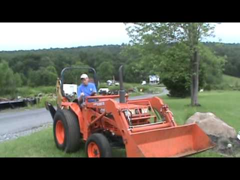 How To Remove A Backhoe From A Mahindra Tractor How To