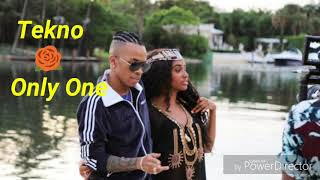 Tekno - Only One (Audio/Official)