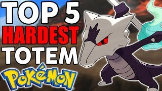 Top 5 Hardest Totem Pokémon in Pokémon Ultra Sun and Ultra Moon