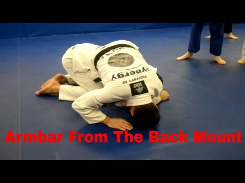 Armbar from back mount - Emerson Souza - Long Island Brazilian Jiu Jitsu and MMA Image 1