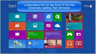 Windows 8 - Beginners Guide Part 1 - Start Screen & Charm Bar [Tutorial]
