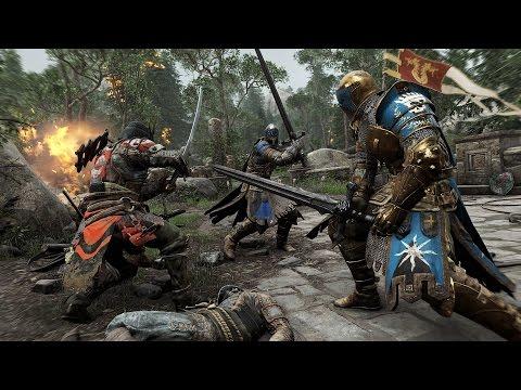 Поиграл в For Honor - заразительные рыцарские дуэли, один из сюрпризов E3 2015