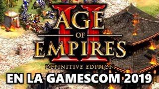 AGE of EMPIRES 2 DEFINITIVE EDITION ESTARÁ en la GAMESCOM   INFO + POSIBILIDADES