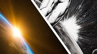 HOW TO INK COMIC BOOKS: Lens Flare Effect