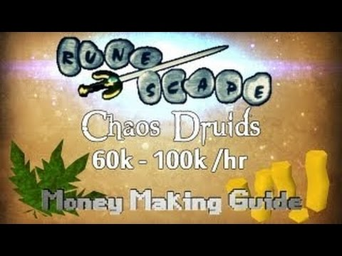 Runescape 2007 Elder Chaos Druids Guide – 80k+ Combat Xp/hr
