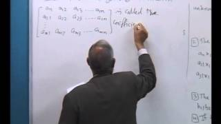 Chapter 2:Matrices and Determinants 2.1: Systems of linear equations-1