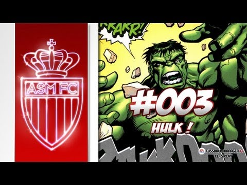 AS MONACO - Fussball Manager 13 Lets Play #003 - HULK & POGBA | ᴴᴰ