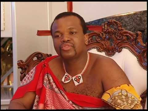The King of Swaziland about polygamy