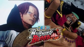 One Piece Burning Blood Trailer 5 [OFFICIAL] English Sub Story Mode (SHANKS & BLACKBEARD CONFIRMED)