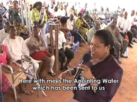 Anointing Water in Accra Ghana branch_tb joshua