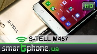 S-TELL M457 - Обзор смартфона. Дизайн вне бюджета.