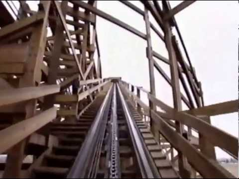 TOP 10 American Roller coaster in 2001. No.9 is Ghost Rider in California.