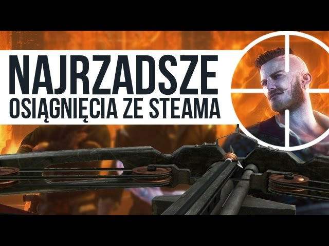 NAJRZADSZE niepozorne osiągnięcia ze Steama [tvgry.pl]