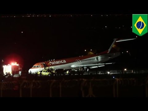 Brazilian passenger jet makes emergency crash landing in Brasilia