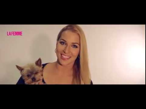 Dominika Cibulkova: Backstage video, photoshooting for magazine LaFamme