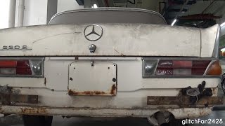 1959 Mercedes Benz 220S W111 - Neglected in Singapore