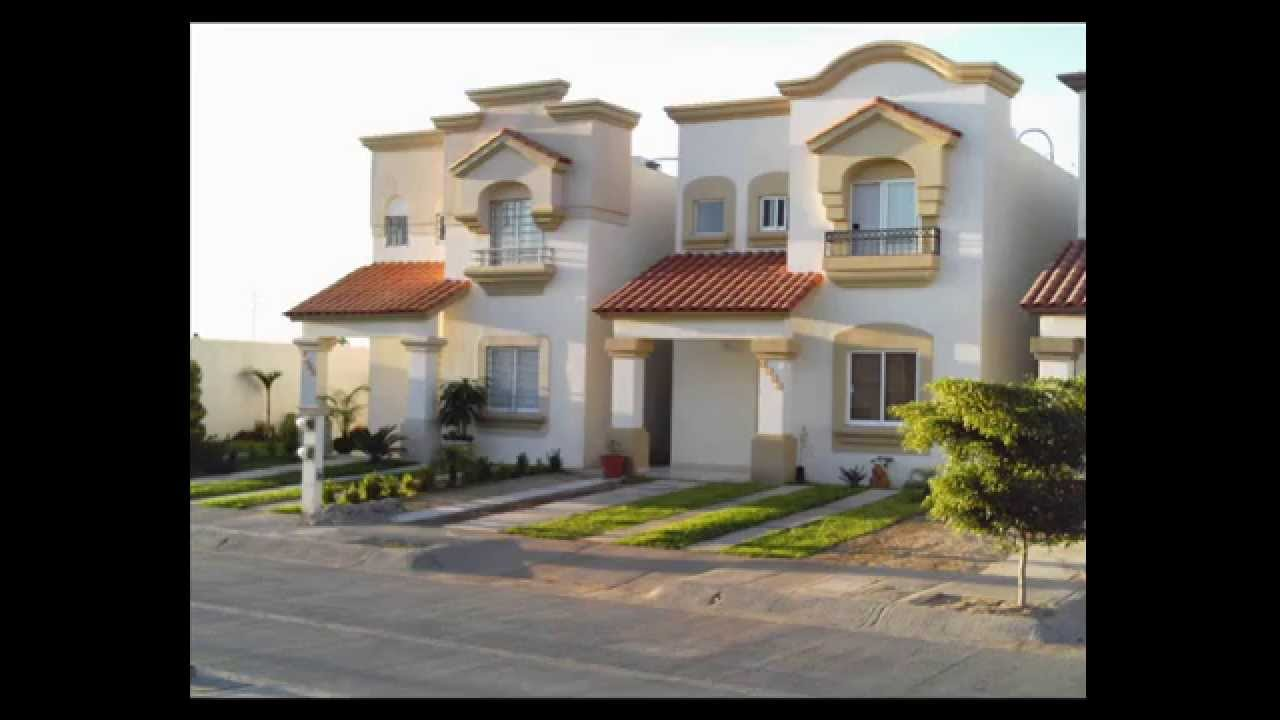 Fachadas de casas de infonavit youtube for Fachadas de casas pequenas con terraza