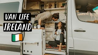 WEEK of VAN LIFE in IRELAND