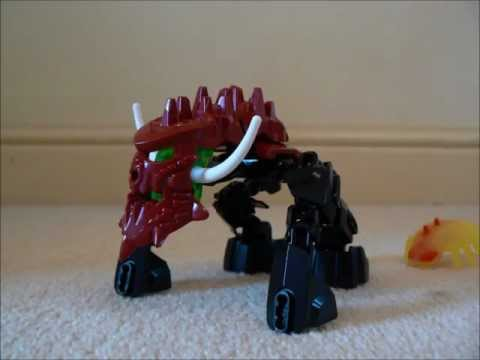 Lego HeroFactory Brain Attack Pyrox Transformation