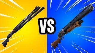 PUMP SHOTGUN vs. COMBAT SHOTGUN! - (Testing which is BETTER?)