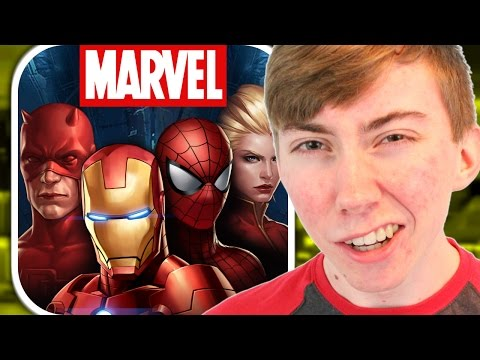 MARVEL FUTURE FIGHT (iPhone Gameplay Video)