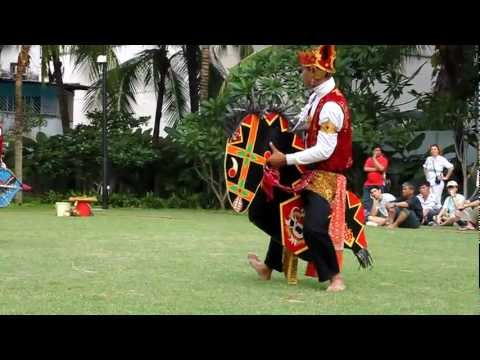 Kuda Kepang Performance At Malay Heritage Centre, Singapore video