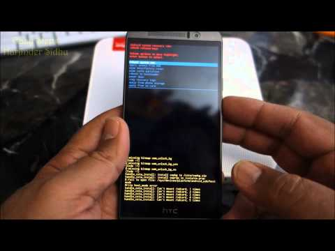 How To Reset HTC One M9 | Recovery Mode |  Hard Reset | Red Triangle Fix |Original Factory Setting