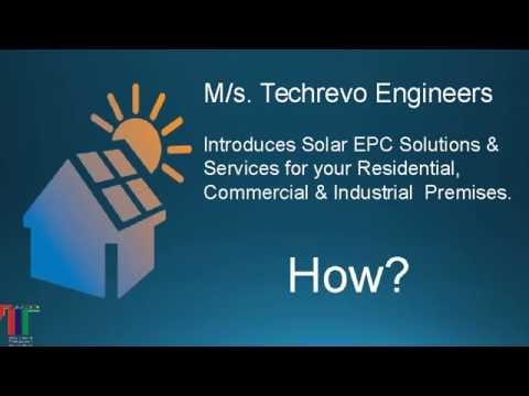 Solar Roof Top Solutions From techrevoEngineers