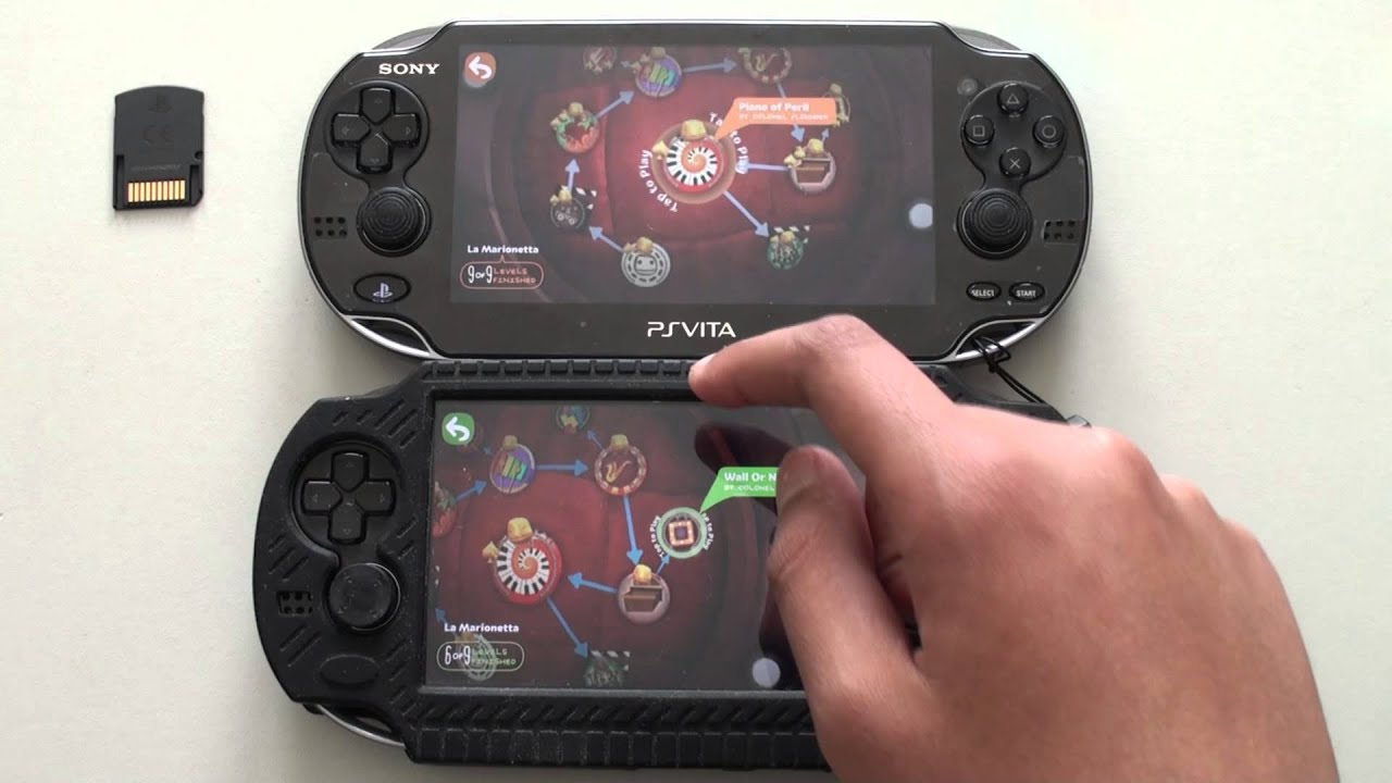 ps Vita Games Look Like ps Vita Game Cartridge vs