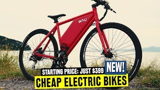 10 Electric Bicycles w/ Lowest Pricing in 2019: Should you Buy Cheap Bikes?