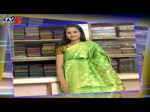 Latest Trending Sarees | Snehitha Program | 02-07-2018 | TV5 News