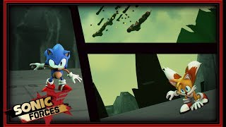Sonic Forces Cutscene: Tails Boss Fight