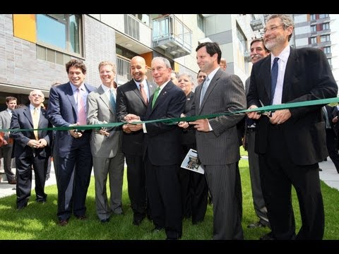 Mayor Bloomberg Announces Grand Opening of Via Verde Affordable Housing Development