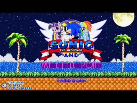 Sonic vs Pony Sonic And my Little Pony Start