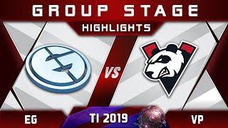 EG vs VP TI9 The International 2019 Highlights Dota 2