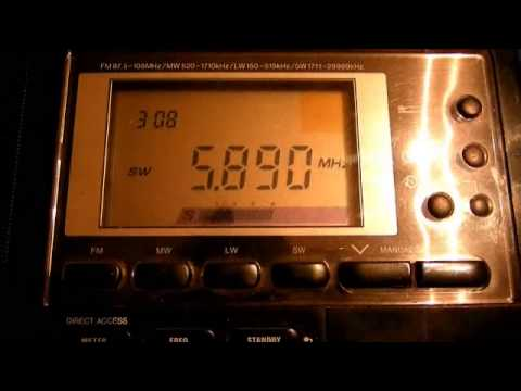 HAARP Frequency Sweep-5730-5900 khz 3/11/13