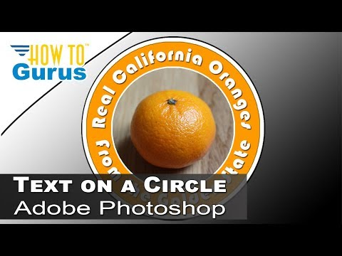 How to Create Circular Text Using Photoshop