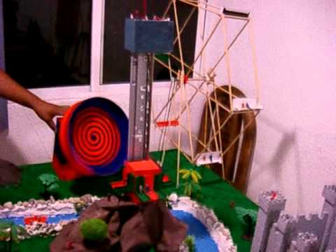 Maqueta juegos mecanicos youtube for Para desarrollar un parque ajardinado
