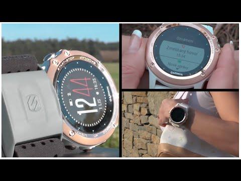 Garmin Fenix3 Sapphire RoseGold – výjimečné sportovní hodinky pro ženy