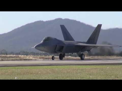 Australian International Airshow 2013 The F-22 Raptor
